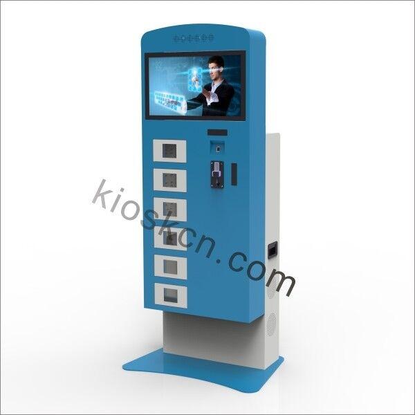 Cellphone charging kiosks